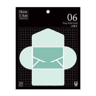 [Miccudo] | small gift card | Greeting Cards Mail mail phrased privacy sticky (8 colors)