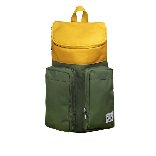 RITE- Urban║ double-bag package (M) - Yellowish brown / dark green