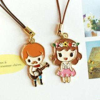 Jetoy_ story _ Hawaii lovers couple phone strap (J1101802)
