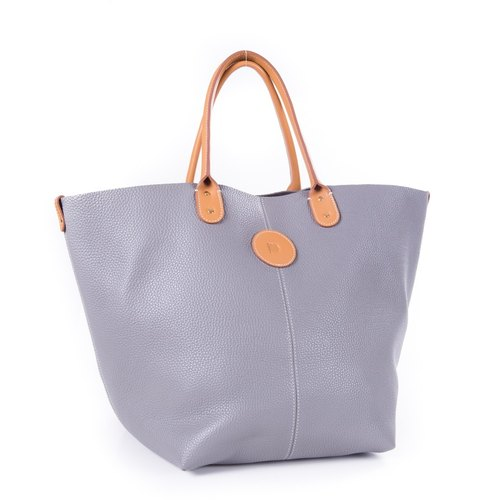 Patina leather handmade custom special order: Almita-M shopping bags