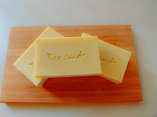 Pure barcode - Classic calendula Marseille Handmade soap (soap). Suitable for normal and dry skin