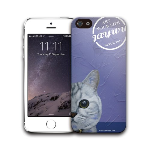 iPhone 5 / 5S 3D side wrapping protective shell - JaywuArt PSIP5S3D-309