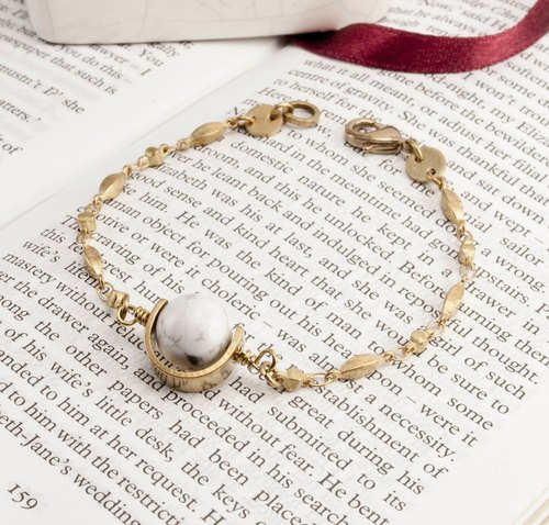 ❈La Don Radon ❈ - Button Bracelet - Marble