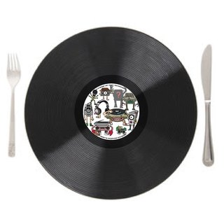 Vinyl Record Table mat / Placemats