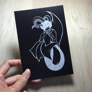 Capricorn negative Postcards