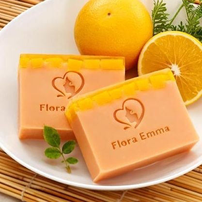 Flora Emma Emma Fu child soap - orange strengthen nourishing soap