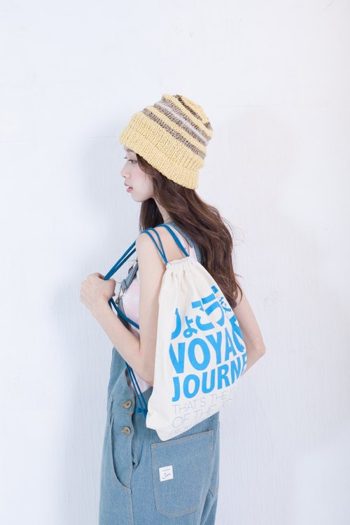 SUMI ○ ○ 3AF500_ travel pouch light blue backpack