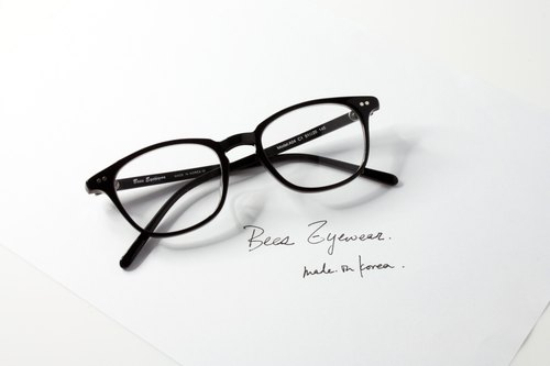 韓國手造 方型板材幼細鏡框 Handmade in Korea wellington rectangle Shape eyeglasses frame eyewear A04C1