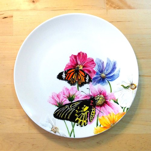"""Exclusive"" Project commemorative plate Taiwan - Taiwan animal series ""Taiwan Papilio"""