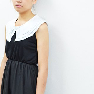 Three-piece cotton collar - can be applied to flat dress, a sleeveless vest! Super nice!