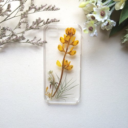 Handmade Yahua phone shell [Let Flowers tell you]