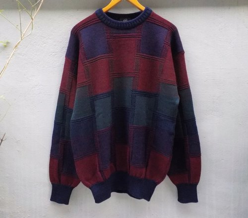 FOAK vintage color being of pure wool sweater