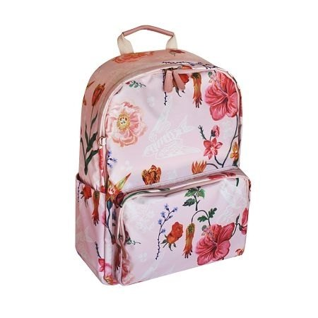 Dessin x 7321 Design-Nathalie Lete Limited laptop back bags - Secret Garden - pink, 7321-05802
