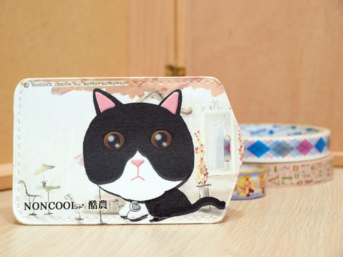 "[Charity care goods] ""NONCOOL‧ cool agriculture"" MIX Mercedes cat. Easy Card sets / Documents folder Package"