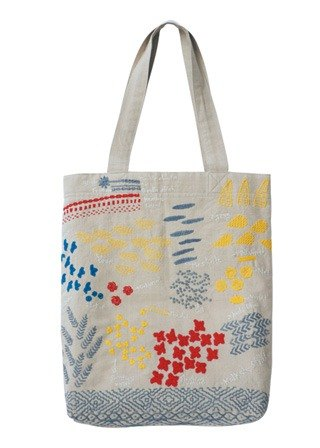 "Earth tree fair trade- ""Embroidery Series"" - hand-embroidered hand bags"