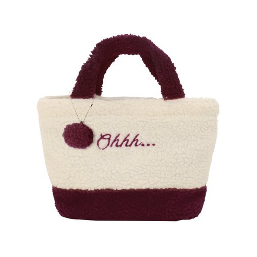 U-PICK original product life character embroidered cashmere hand bag lovely hand bag leisure package 2