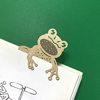 Mark TAIWAN McKee Zoo - Zhu Luo Tree Frog Paper Bookmark