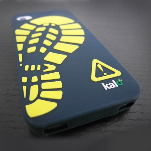 Kalo Carel creative iPhone4 / 4S Wild Silicone Case