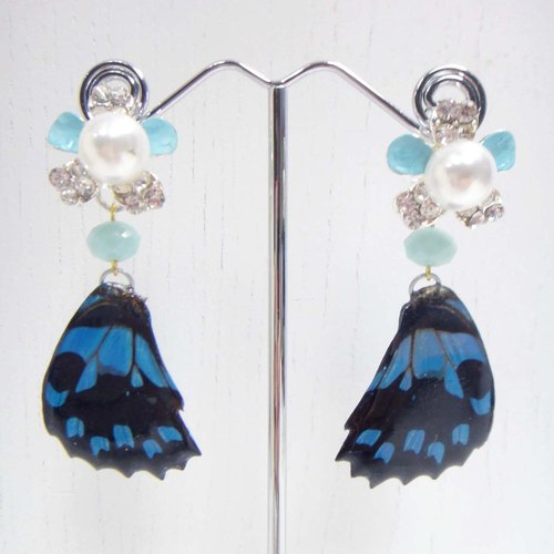 TIMBEE LO butterfly specimens Epoxy Earrings