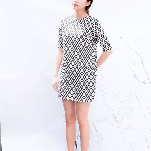 Tunic Dress - Thai Print