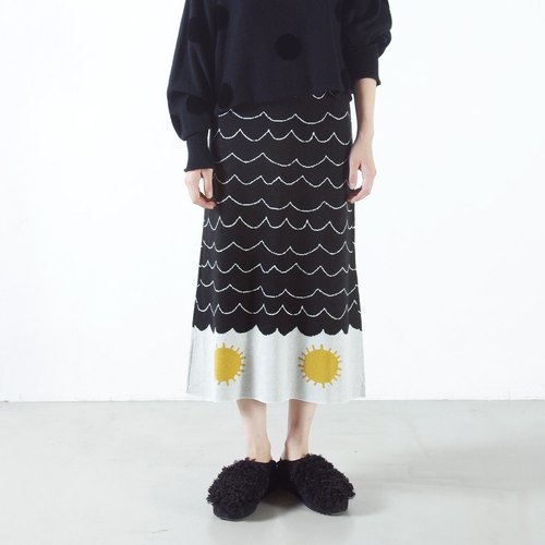 Japanese-style fishtail skirt - imakokoni