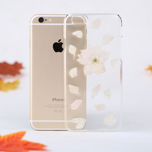 Handmade Pressed Flower Phone Case for iPhone Samsung