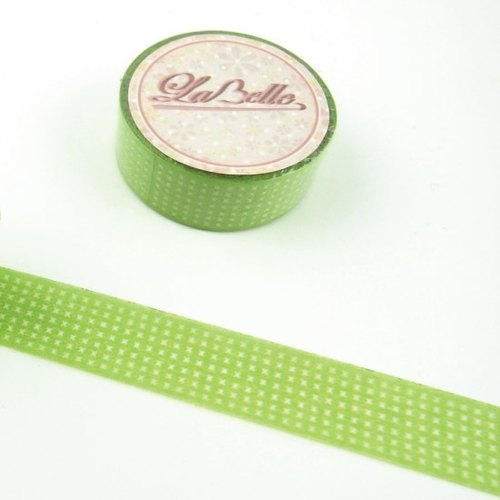 LaBelle series - green checkered design section []