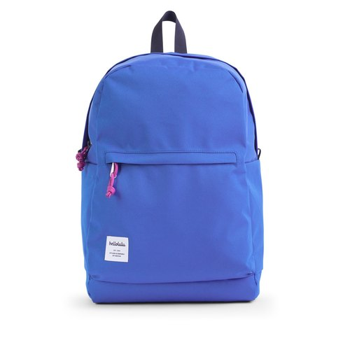 Hellolulu-Nelly-leisure multi-functional backpack (color blue)