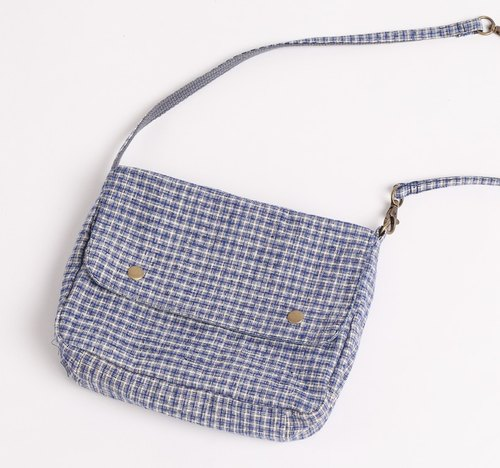 Limited - hand - woven (old coarse cloth) series - multi - purpose portable bag A