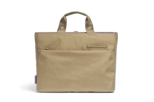 HelloLulu-15-inch laptop bag (nylon cinnamon)