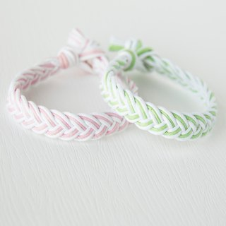 Middle / hand-woven bracelet