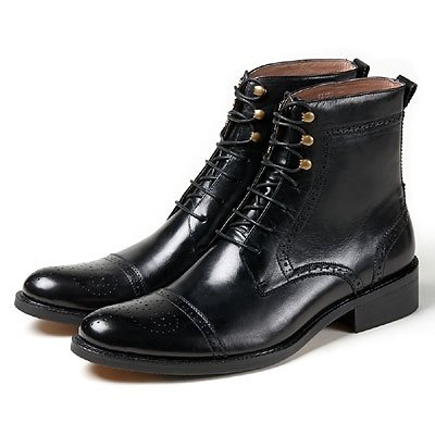 US-‧ whims Vanger elegant carved-in-tube boots ║Va126 England England Black