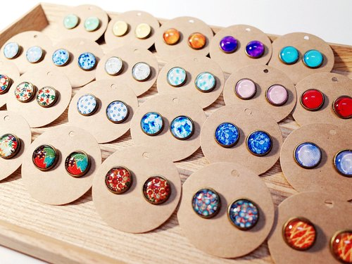W&Y Atelier - Colorful Earring
