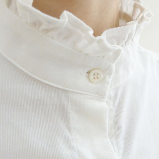 Lotus lights Rui velvet collar shirt