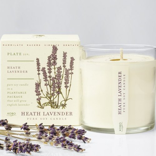 KOBO series of non-genetically modified soybean seeds fragrance candles - romantic aromatherapy
