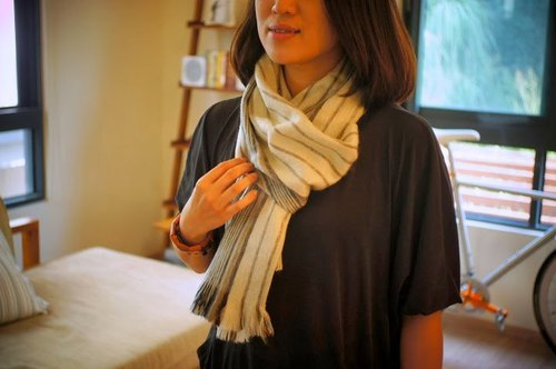 Vista [knowledge], South America, handmade alpaca scarves Whitening