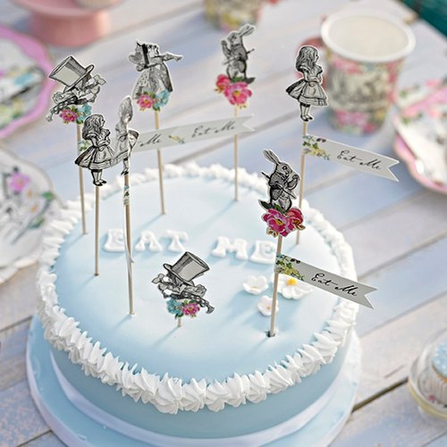 """Alice is crazy § bamboo tea party"" British Talking Tables Party Supplies"