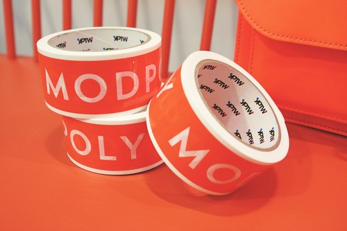 MODPOLY PACKING TAPE | Modern Poly homemade tape