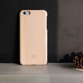 Alto iPhone 6S Plus Genuine Leather Case Back Cover Original - Natural