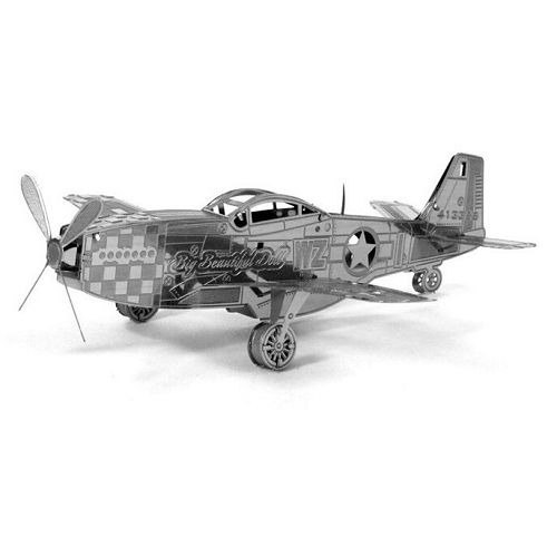 Micro model Metal Series TMN-03 P-51 Mustang fighter