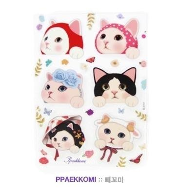 Jetoy, sweet cat decorative stickers _Ppakkomi (J1508108)
