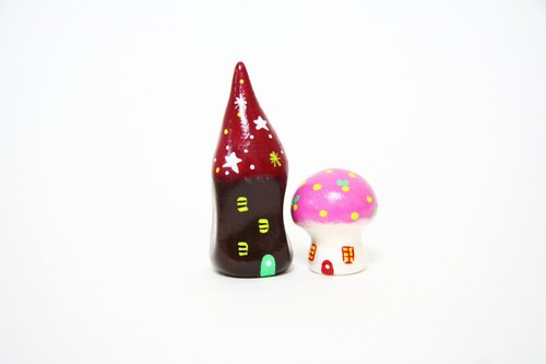 Little House Little House - Star fairy tale dream house / small mushroom house a combination of bean sprouts
