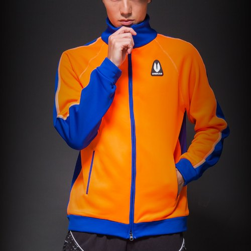 Native Zero 1.0 neon mirror coat _ orange / blue