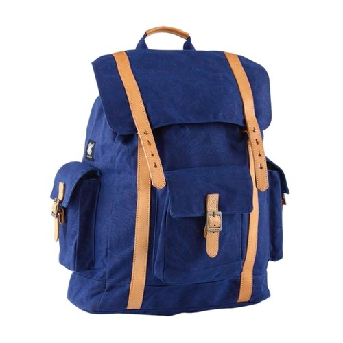 H.A.N.D royal blue backpacks │L│