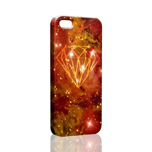 Rock Diamond (flashing orange) Custom Samsung S5 S6 S7 note4 note5 iPhone 5 5s 6 6s 6 plus 7 7 plus ASUS HTC m9 Sony LG g4 g5 v10 phone shell mobile phone sets phone shell phonecase