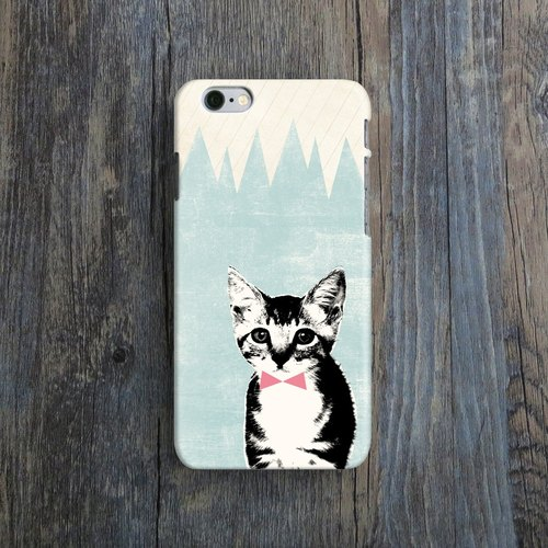 Cute Kitten - Designer iPhone Case. Pattern iPhone Case.