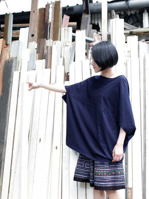 OMAKE OG Wide hexagonal sewn shirt