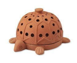"Earth Tree Fair trade & amp; Eco- ""handmade pottery Series"" - Turtle mosquito seat"