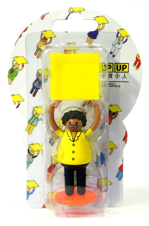 [Villain] three-dimensional doll UPUP placards - white-backed version of the series swarthy villain