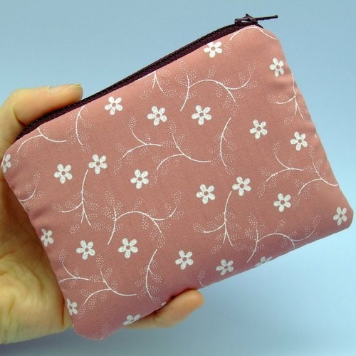 Zipper pouch / coin purse (padded) (ZS-24)